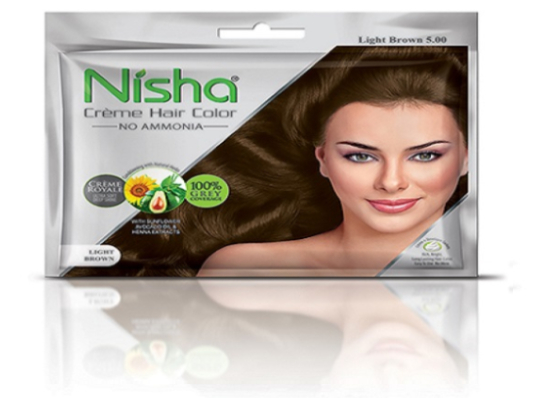 Nisha Crème Hair Color Flame Red