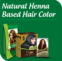 Natural Henna Based Hair Color